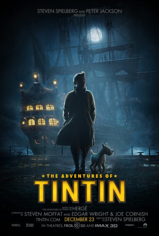 Posters y Teaser de Tintin