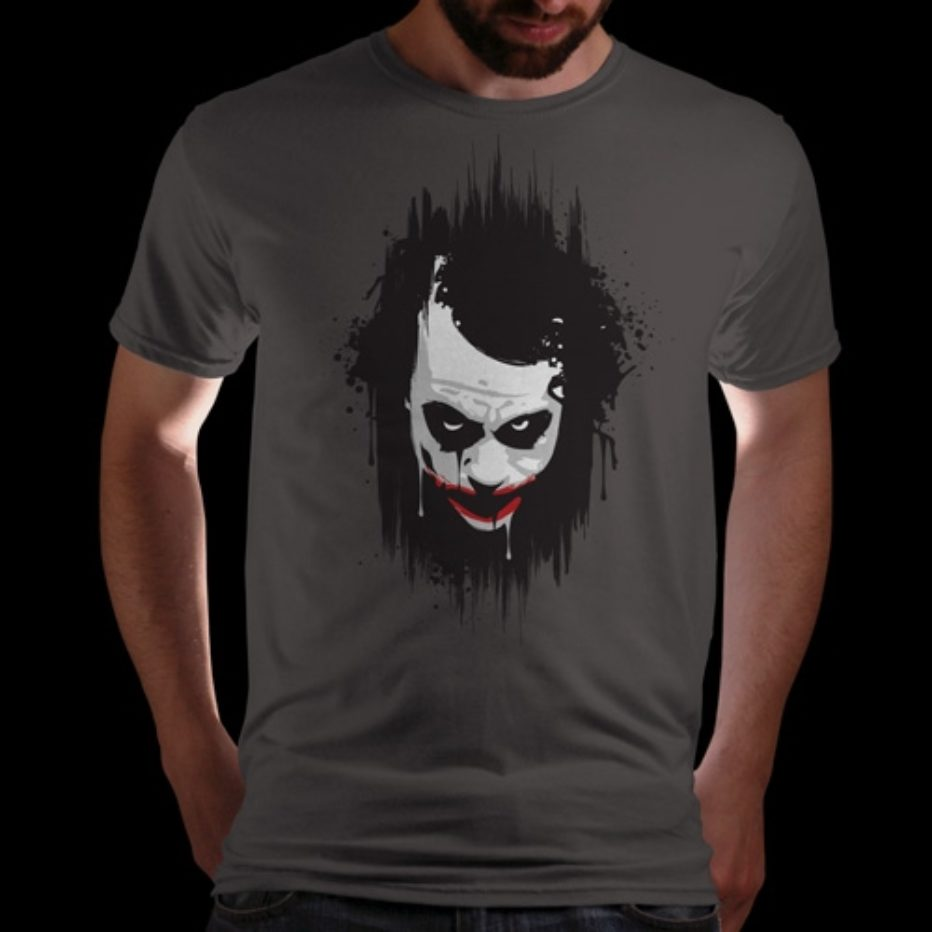 Camisetas He paints his face + Totems