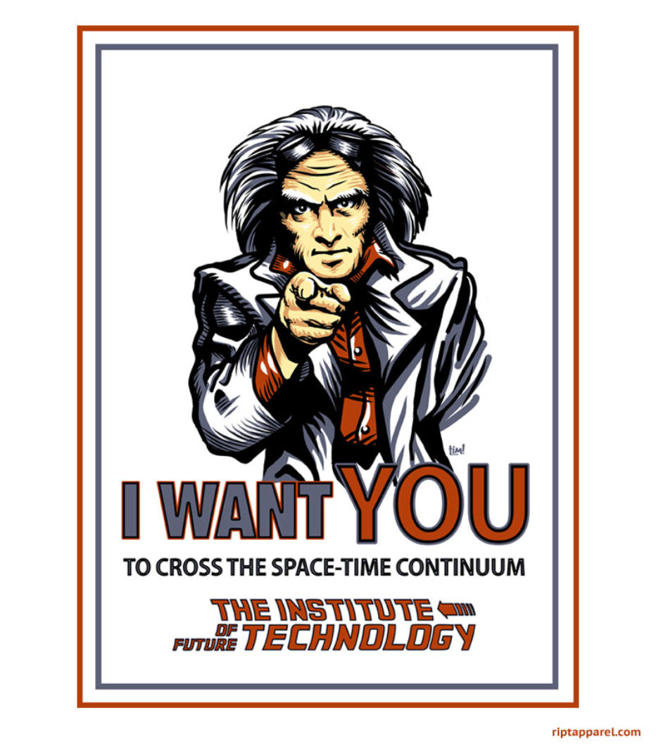 I want you: to cross the space-time continuum