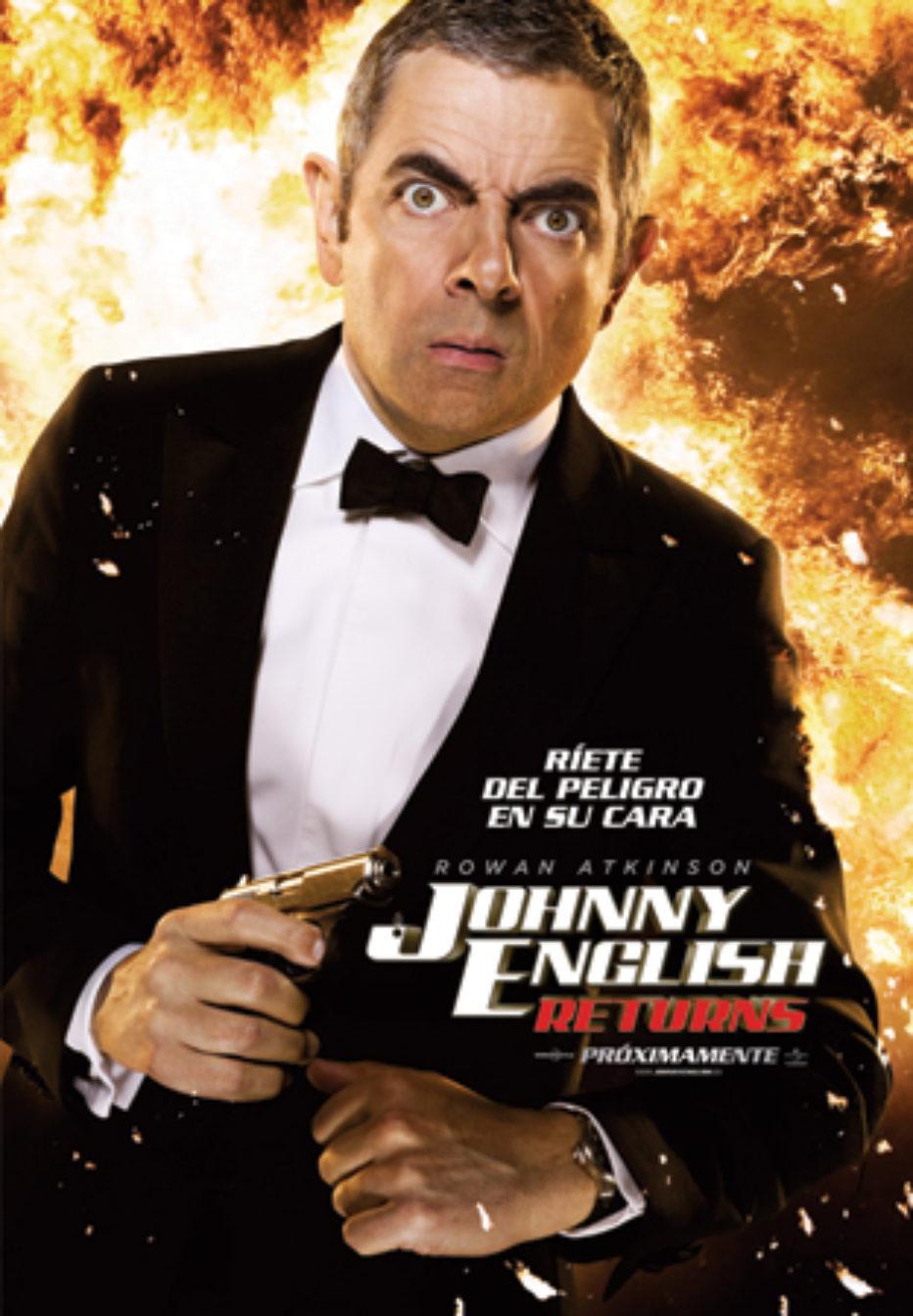 Johnny English Returns, para gustos, películas