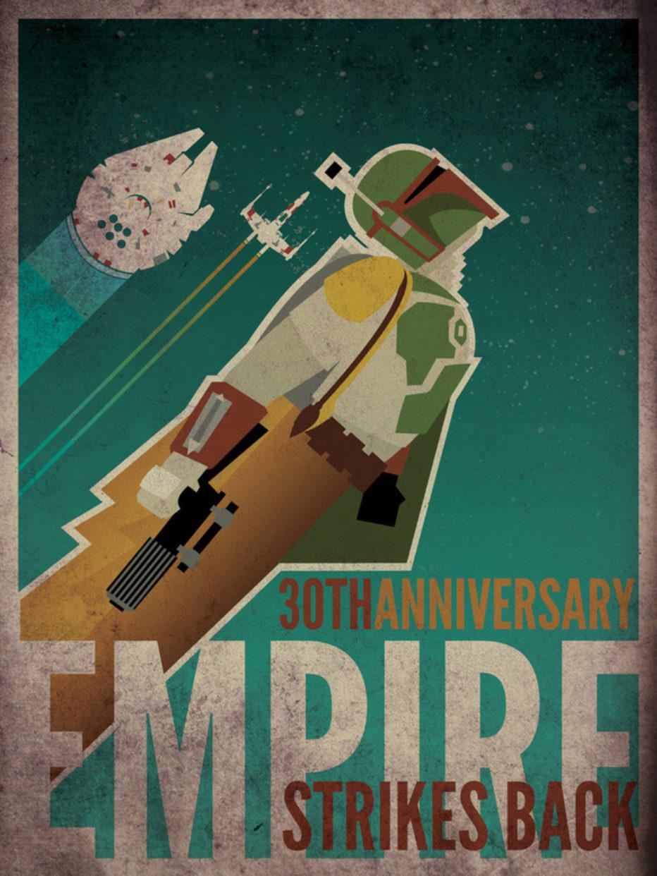 60 increíbles ilustraciones sobre Star Wars