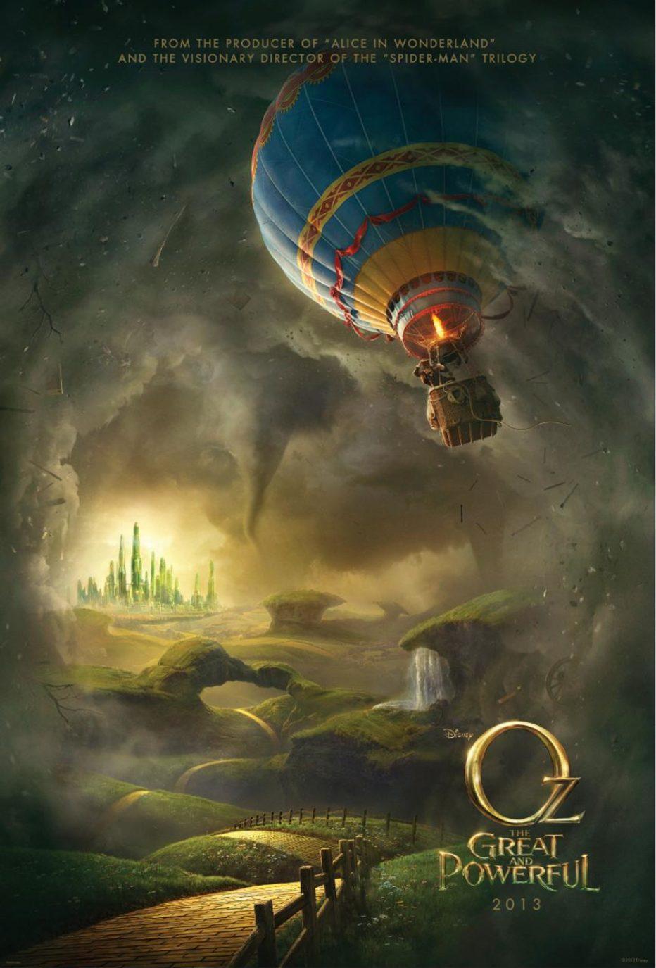 Tweets del día: Oz The great and Powerful