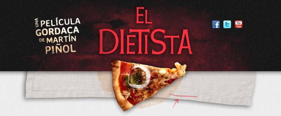 Últimos días para apoyar a la peli de El dietista de @martinpinol