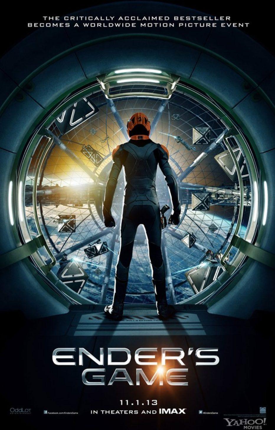 Teaser Poster de El Juego de Ender