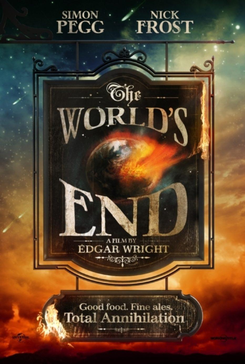 Trailer y póster de The world's End