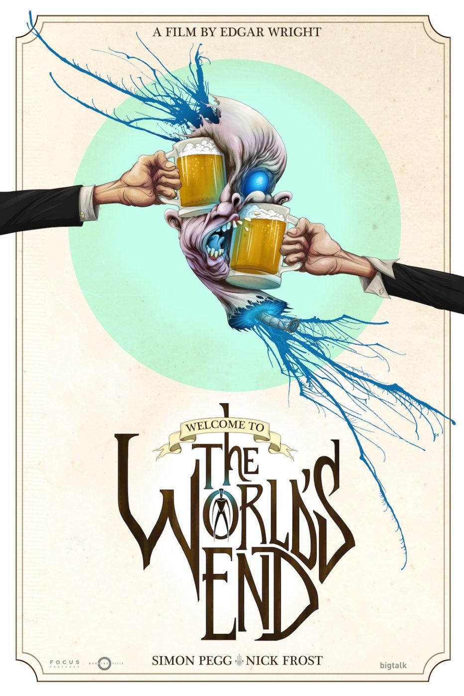 Nuevo y espectacular poster de The world's End