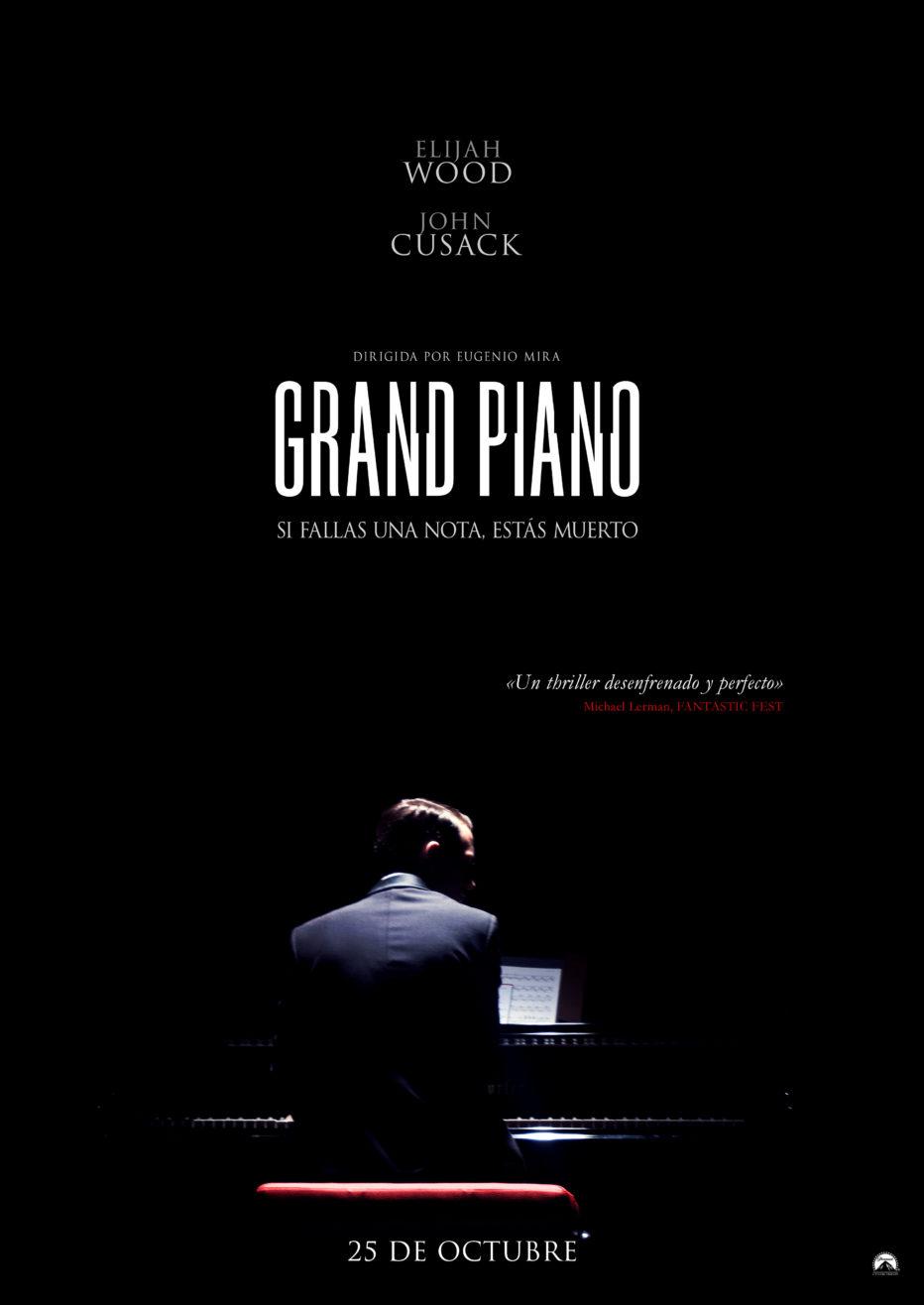 Trailer y Teaser Poster de Grand Piano, la película que inaugura SItges