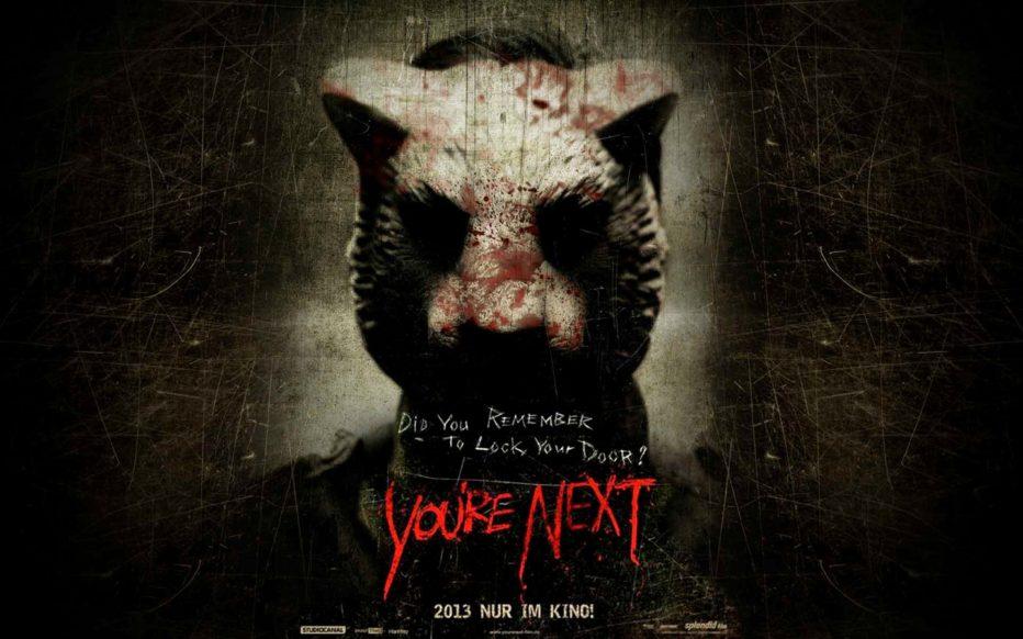 Youre Next. Terror no, risas si