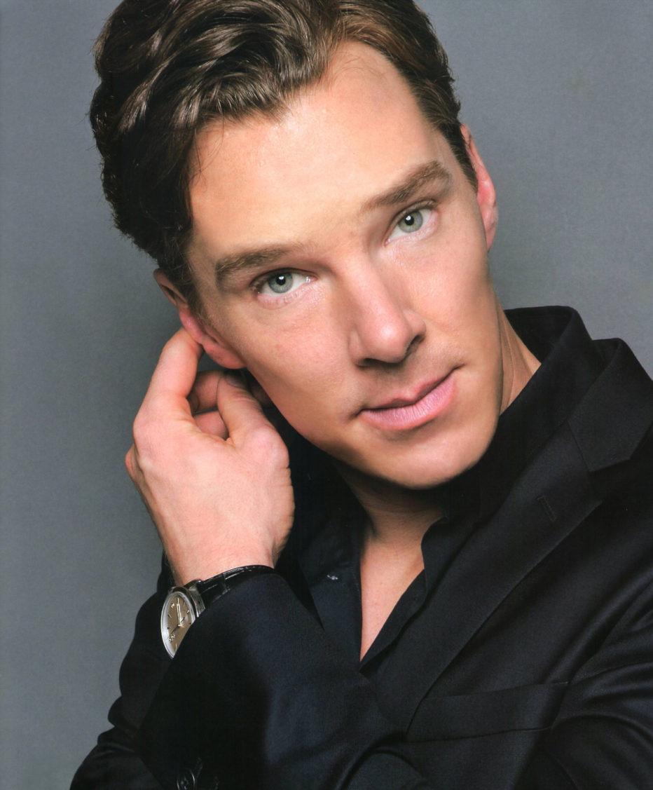 Benedict Cumberbatch hace el Cheewbacca mientras Harrison Ford evita hablar de Episodio VII