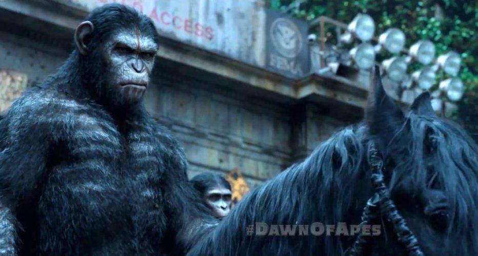 Espectacular Trailer final de El Amanecer del Planeta de los Simios