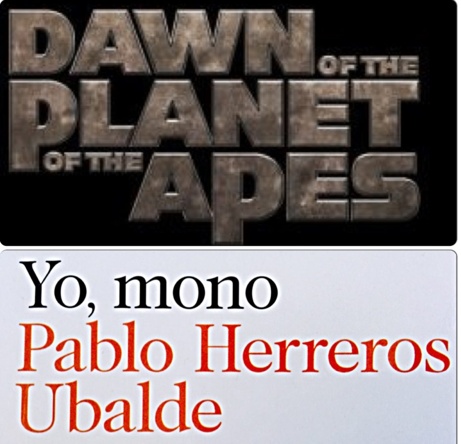 El Amanecer del Planeta de los Simios: Yo, Mono
