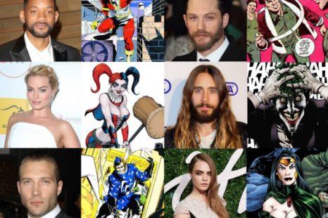 Se anuncia el elenco de Suicide Squad