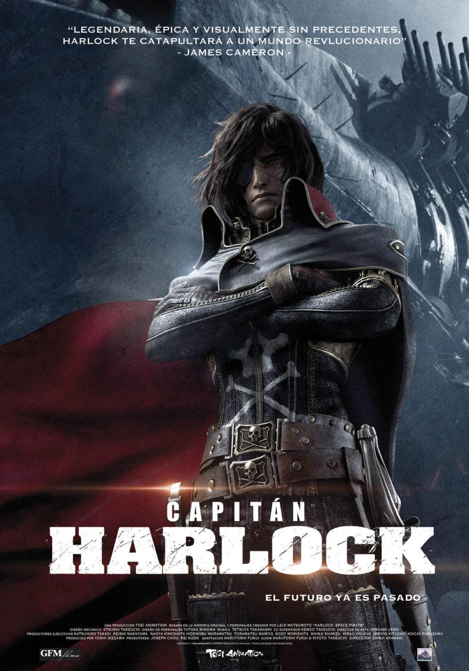 Capitán Harlock: manga desvirtuado