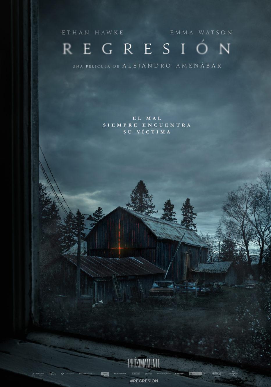 Primer trailer y poster de Regresión, lo nuevo de Amenábar