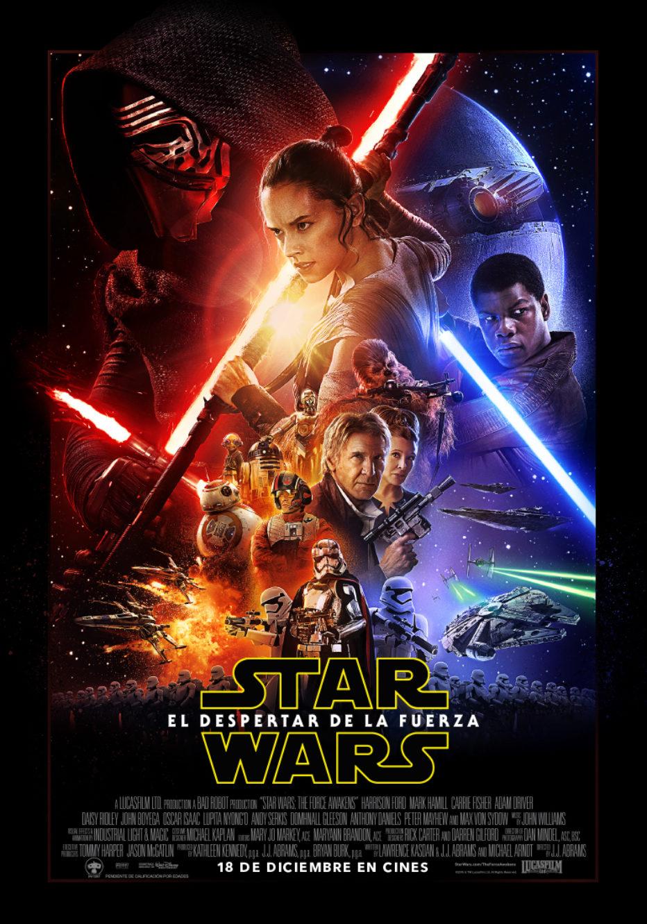 Clips de los teasers del trailer de Star Wars: El despertar de la fuerza