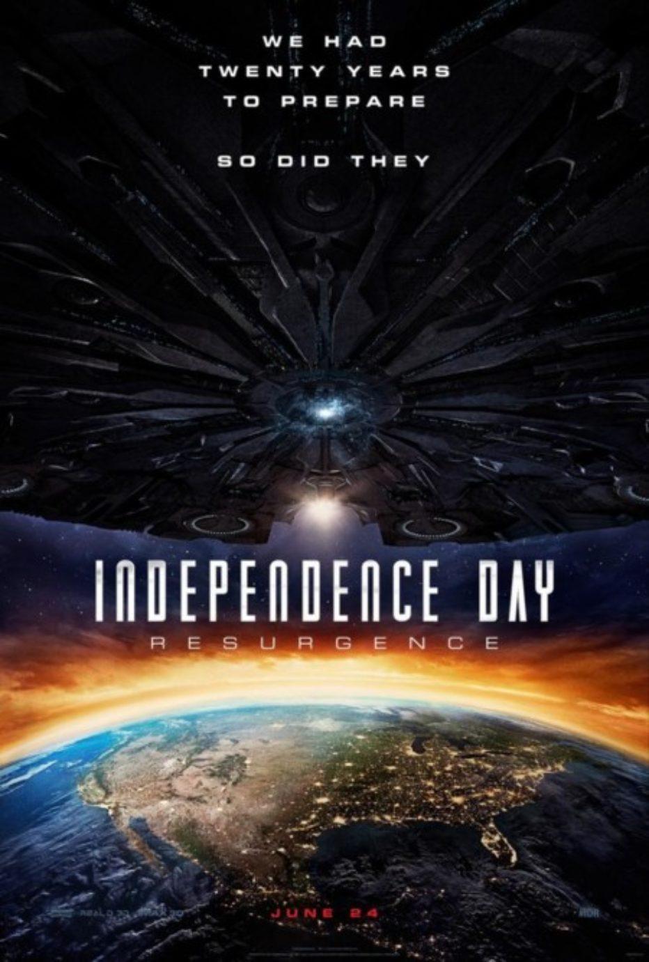 Independence Day 2: Emmerich (más) desatado