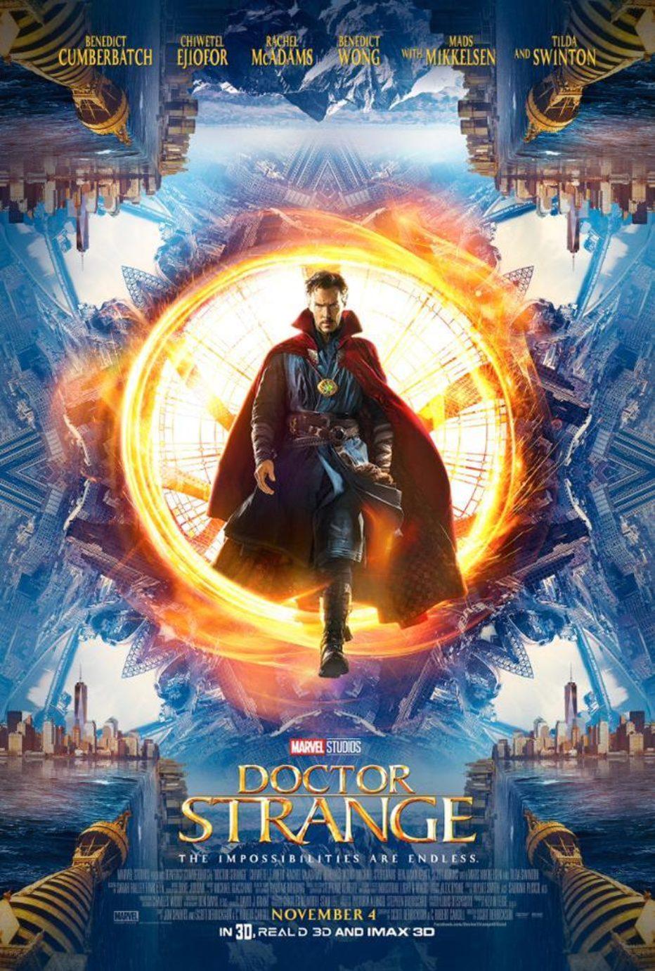 #SDCC: Trailer y poster de Doctor Extraño