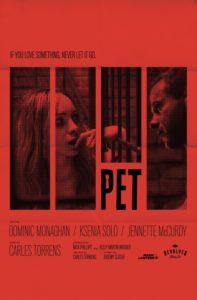 """Poster de la película """"Pet"""""""