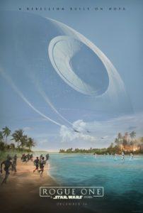 "Poster de la película ""Rogue One: Una historia de Star Wars"""