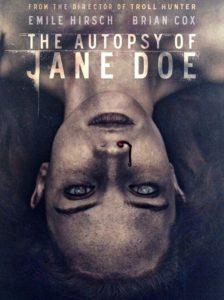 "Poster de la película ""The Autopsy of Jane Doe"""
