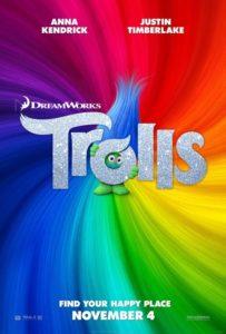 """Poster de la película """"Trolls"""""""