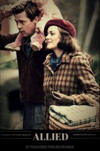 """Poster de la película """"Aliados"""""""