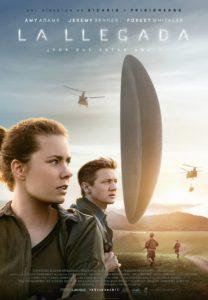 """Poster de la película """"La llegada"""""""