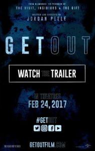 "Poster de la película ""Get Out"""