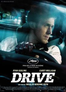 """Poster de la película """"Drive"""""""