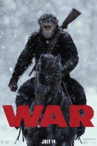 """Poster de la película """"War for the Planet of the Apes"""""""