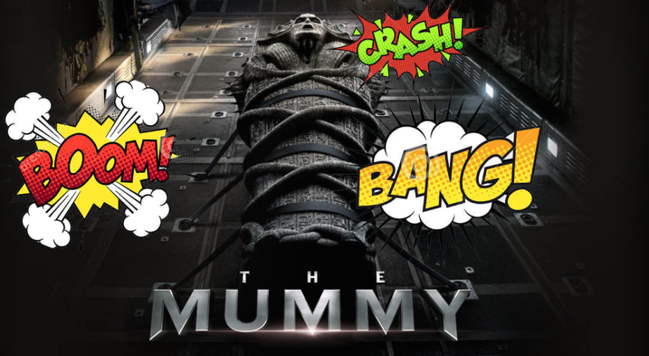 Suben por error un trailer de The Mummy SIN EFECTOS DE SONIDO y el resultado es HILARANTE