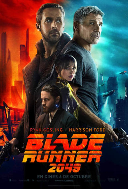 Spot Internacional y Poster de Blade Runner 2049