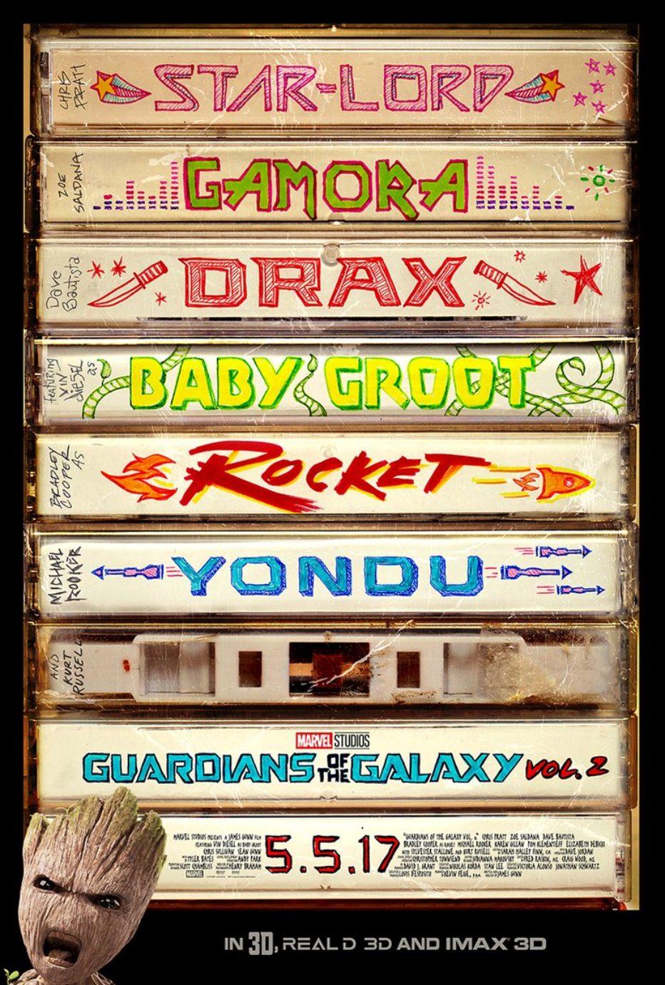 Nuevo trailer de Guardianes de la Galaxia