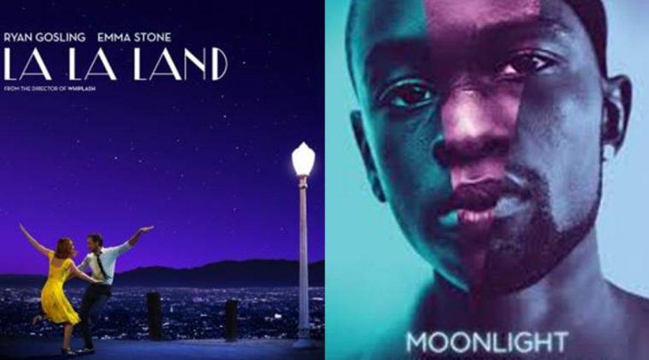 Moonlight y La la land triunfan en los Oscar más bizarros de los últimos tiempos