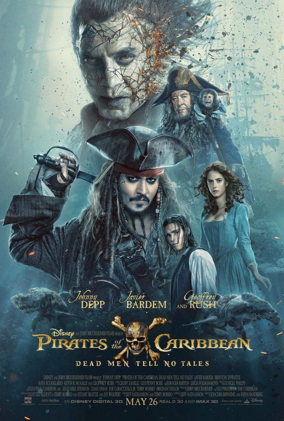 Primer trailer de Piratas del Caribe: La venganza de Salazar