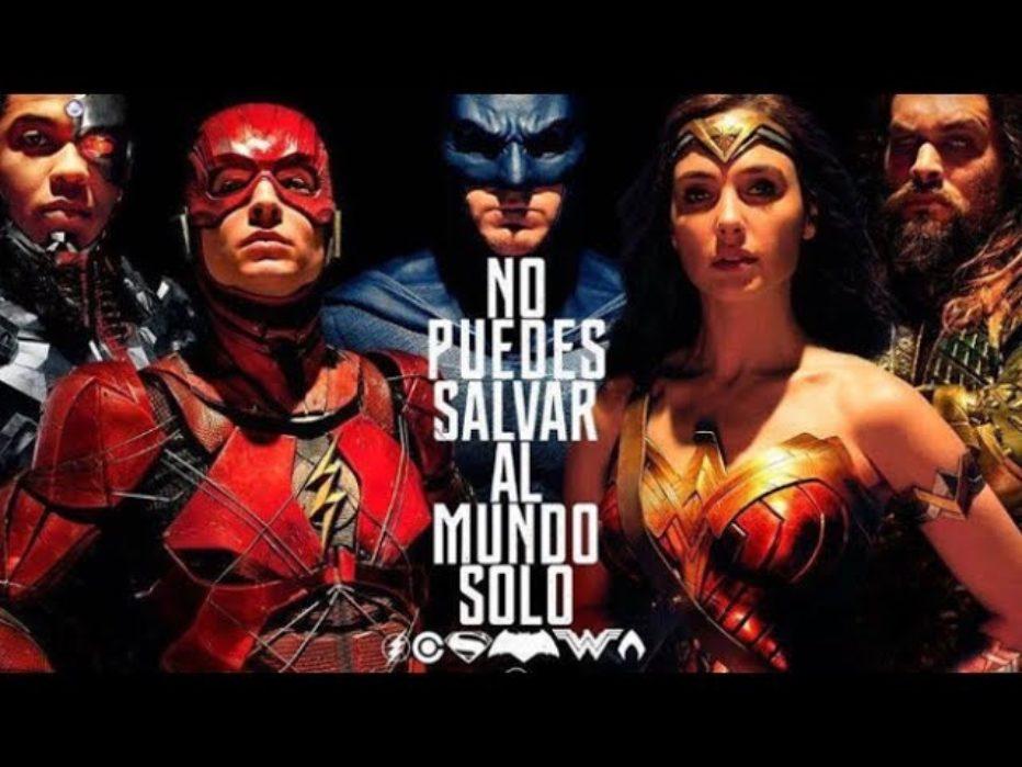 Trailer de la comic con de La liga de la justicia