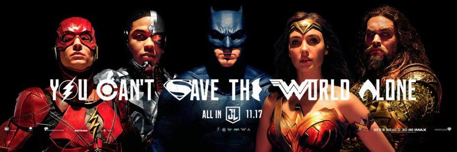 Segundo trailer de Justice League