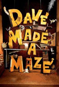 """Poster de la película """"Dave Made a Maze"""""""