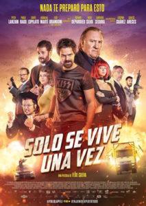"""Poster de la película """"Sólo se vive una vez"""""""