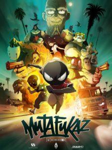 "Poster de la película ""Mutafukaz"""