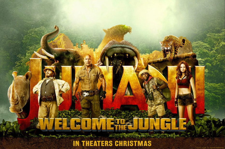Segundo trailer de Jumanji: Bienvenidos a la jungla