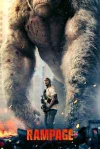 """Poster de la película """"Rampage"""""""