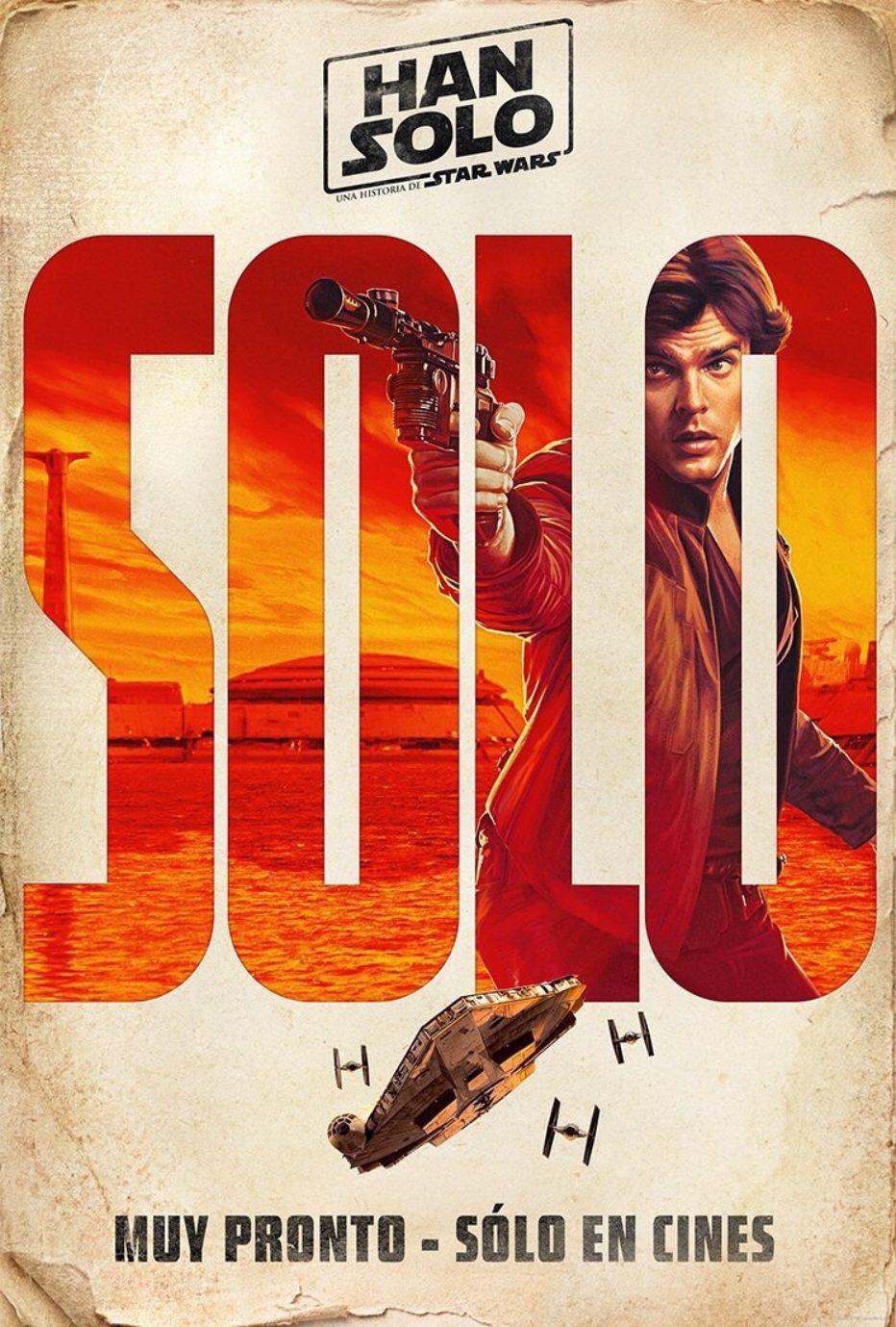 Posters individuales de Han Solo: Una historia de Star Wars