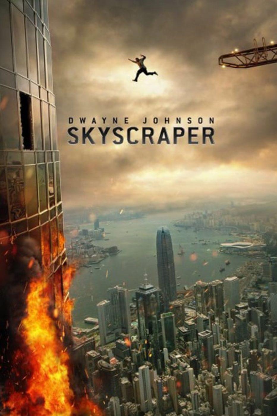 Super Bowl: Trailer de Skyscraper con Dwayne Johnson