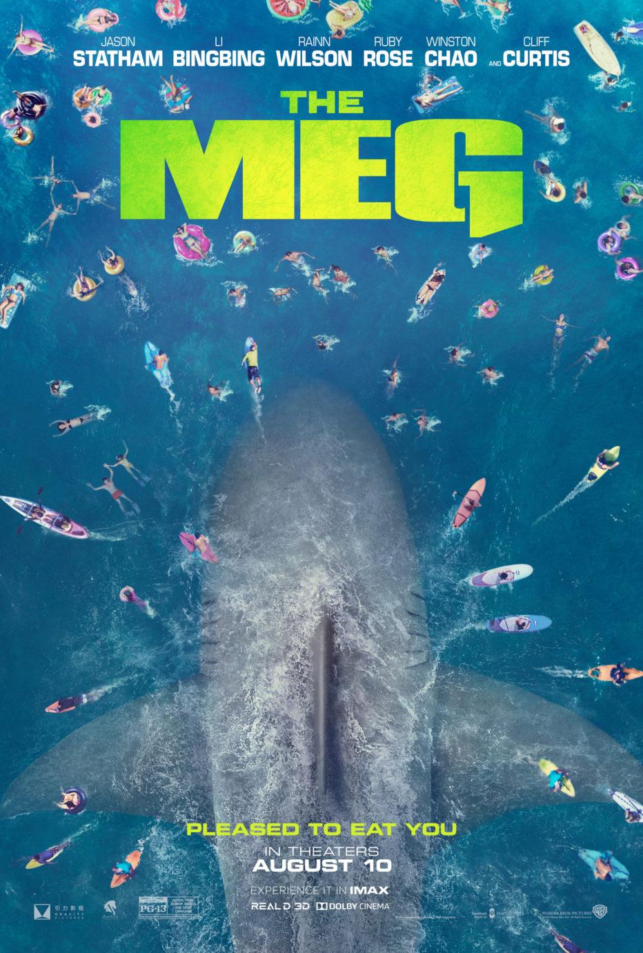 Primer Trailer de The Meg con Jason Statham
