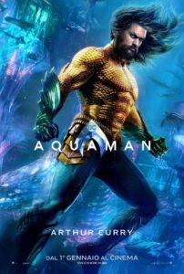 """Poster de la película """"Aquaman"""""""