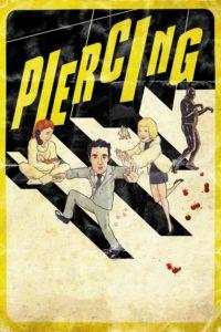 """Poster de la película """"Piercing"""""""