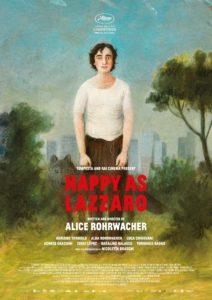 """Poster de la película """"Happy as Lazzaro"""""""