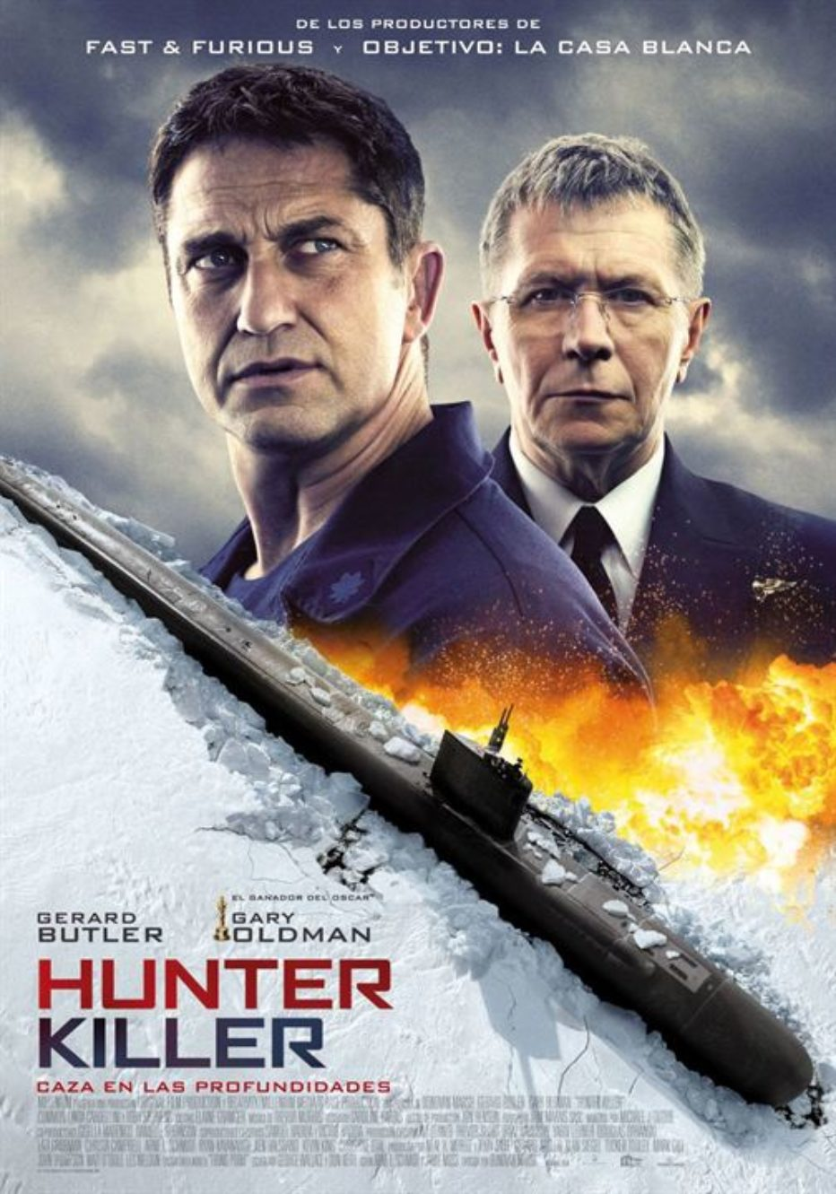 Hunter Killer, de enemigos a aliados