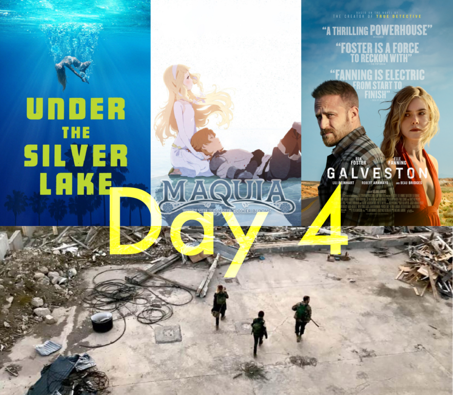 #Sitges2018. Day 4 – Under the silver Lake – Maquia – Galveston – Black Flowers